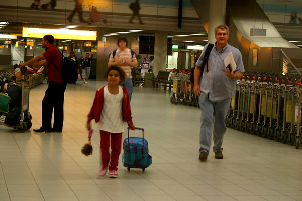 Ashanti Visit to Holland